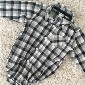 Carter's button down onesie